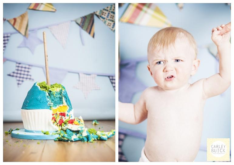 edinburgh cake smash Carley Buick Photography